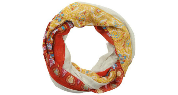 Sherpa Aruna Endless sjaal Dames geel/rood